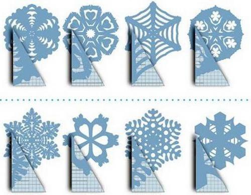 Как делать снежинки