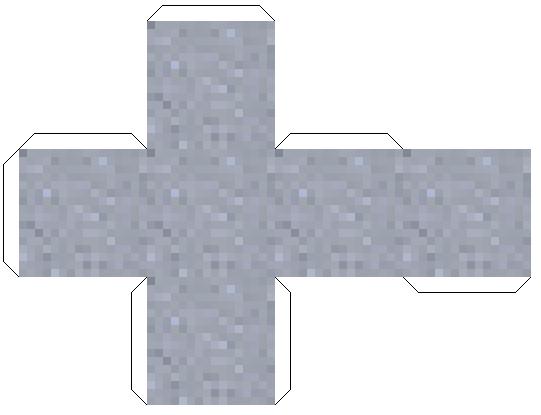 Майнкрафт из бумаги схемы скинов - глина
