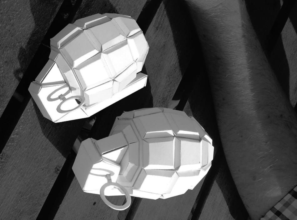 Оригами из бумаги видео оружие
