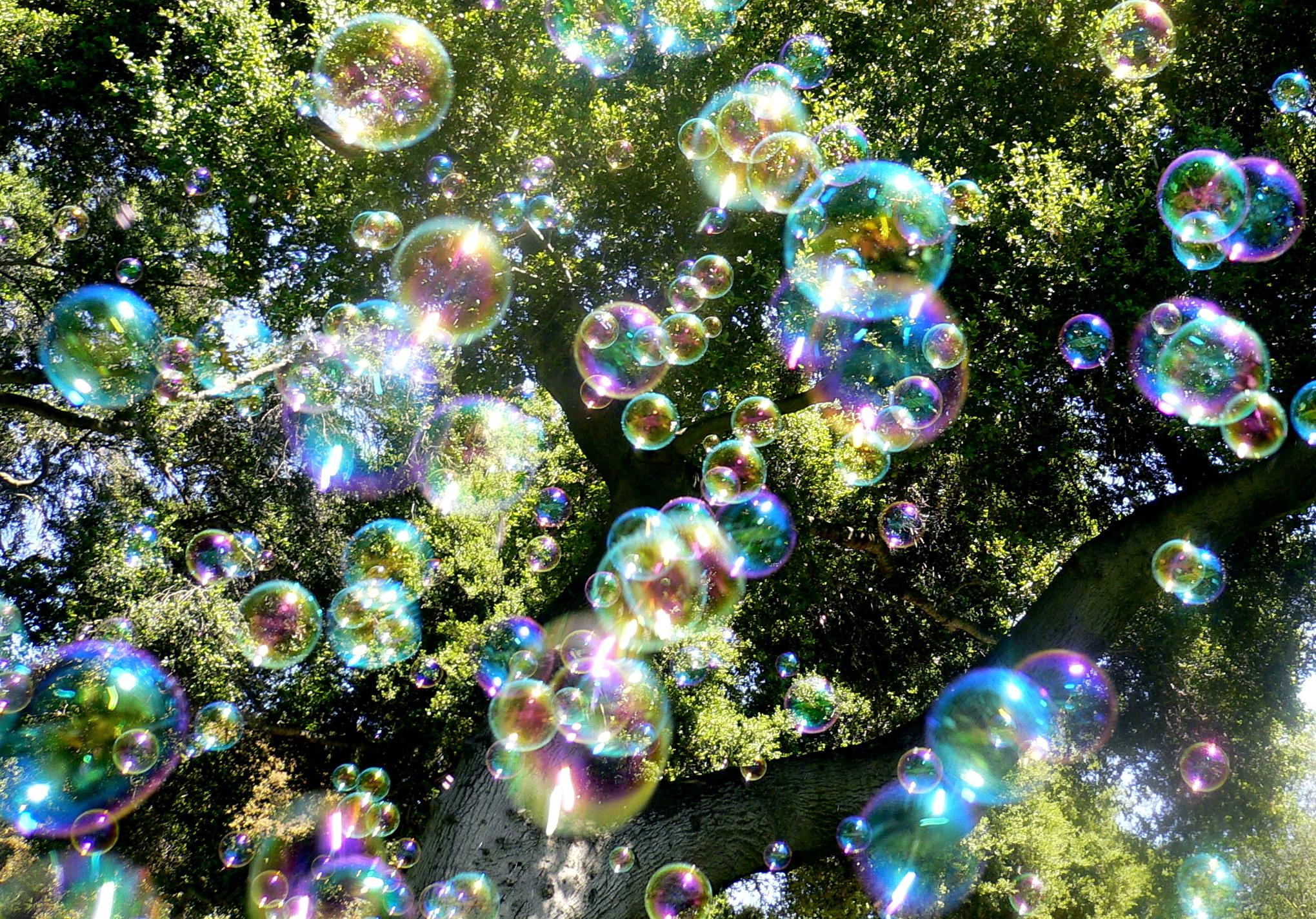 Мыльные пузыри картинки
