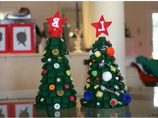 Новогодние игрушки своими руками на елку поэтапно