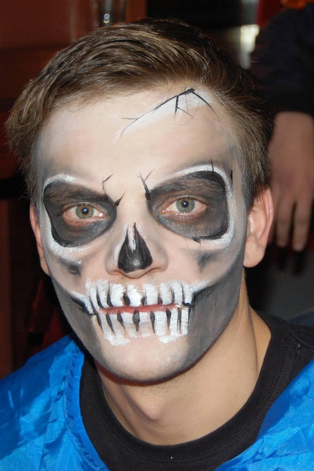 Макияж для мужчин на хэллоуин своими руками