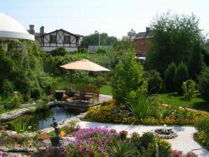 Ландшафтный дизайн дачного участка загородного дома своими руками