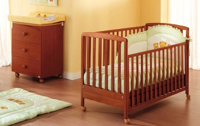 Детские кроватки для новорожденных размеры
