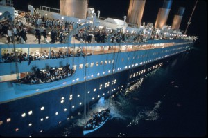 Где затонул Титаник