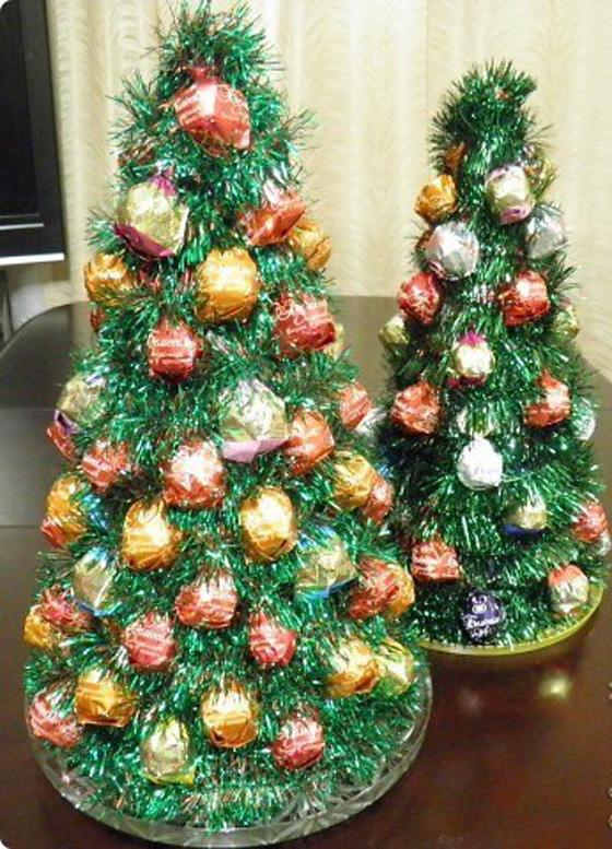 Делаем своими руками новогоднюю елку