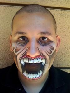 макияж на хэллоуин видео